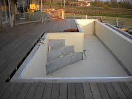aménagement terrasse bois beton