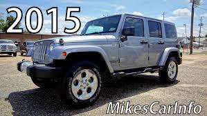 Jeep Wrangler Floor Mats Australia by 2015 Jeep Wrangler Unlimited Sahara Youtube
