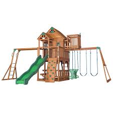 Lowes Garden Variety Outdoor Bench Plans by Shop Playsets U0026 Swing Sets At Lowes Com