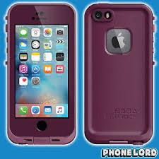 Genuine Lifeproof iPhone SE 5 5S Frē Fre case cover waterproof