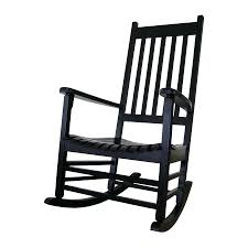 Black Rocking Chair International Concepts Acacia Rocking Chair With ...