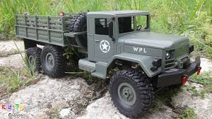 100 Rc Military Trucks NEW RC Truck Off Road 6x6 WPL 24GHz Toy Soldiers YouTube