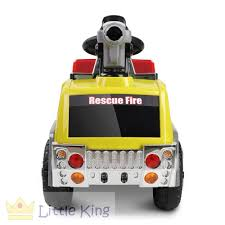 Fire Truck Electric Toy Car - Yellow – LittleKing.com.au Buddy L Fire Truck Engine Sturditoy Toysrus Big Toys Creative Criminals Kids Large Toy Lights Sound Water Pump Fighters Hape For Sale And Van Tonka Titans Big W Fire Engine Toy Compare Prices At Nextag Riverpoint Ford F550 Xlt Dual Rear Wheel Crewcab Brush Learn Sizes With Trucks _ Blippi Smallest To Biggest Tomica 41 Morita Fire Engine Type Cdi Tomy Diecast Car Ebay Vtech Toot Drivers John Lewis Partners