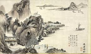 Tani Buncho One Of Eight Views Xiao And Xiang Rivers 1788 Section