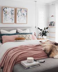 The Faux Fur Throw Adds A Touch Of Glamour To This Contemporary Girly Room