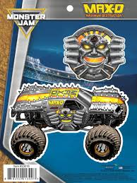 100 Monster Truck Show Miami Jam MaxD Maximum Destruction Decals Car Stickers