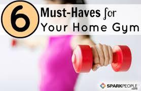 6 Essentials For Your Home Gym Slideshow