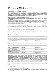 This Is Appropriate Resume Personal Statement Examples