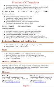 Download Journeymen Plumbers Resume Sample My Perfect Resume