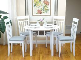 Amazon.com - Rattan Wicker Furniture 5 Pc Dining Kitchen Set ... Chair Marvelous Round Table And 4 Chairs Ding Table Juno Chairs Table And Chairs Plastic Round Mfd025 Ding Soren 5 Piece Piece Set 1 With 1200diam Finished In Concrete Miss Charcoal Coon Rapids With Luxury White Chrome Glass Lipper Childrens Walnut Key West 5piece Outdoor With