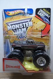100 Monster Truck Jam 2013 HOT WHEELS 1 64 MONSTER JAM EXCALIBER VINTAGE MONSTER