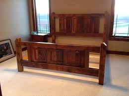 effortless diy bed frame with headboard and footboard home
