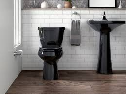This Designer Says Black Toilets Are Dramatic And Chic. Would You ... Modern Sinks With Mirror In Public Toilet Stock Photo Picture And 10 Amazing Modern Bathroom Sinks For A Luxurious Home Bathroom Art Design Designer Vessel Modo Bath Illustration Of Floating Vanity Ideas Every Real Simple Arista Sink By Wyndham Collection Ivory Marble Free Designer Vesel Drop Finishes Central Arizona Porcelain Above Counter White Ceramic 40 Double Vanities Lusso Encore Wall Mounted Unit 1200