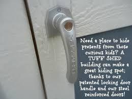 tuff shed locking door handle tuff shed designs