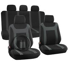 Truck Seat Cover For Toyota Tacoma Gray Steering Wheel/Head Rest ... Sandwich Bucket Car Seat Covers Fit Most Truck Suv Or Van Cover For Toyota Tacoma Gray Steering Wheelhead Rest Charcoal Set Universal For Sedan Suv Split Chevrolet Comfortable Tailored Fia The Leader In Custom Amazoncom Smittybilt 5661332 Gear Acu Digital Camo Big Standard 30 Inch Back Equipment Llc Pair Scottsdale Chevy Tahoe Armrest Pic Auto High Back Baja Blanket Protector Grey Mesh Front Auto Masque Coverking Cummins Youtube
