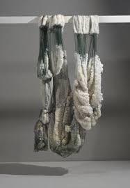 Sigalit Landau Salt Crystal Fishing Net 2011 Suspended In The Dead Sea