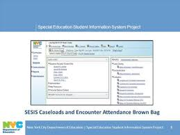 special education student information system project new york city