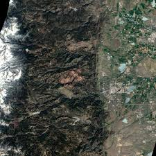 Mythbusters Christmas Tree Fire by Boulder Fire Damage Seen From Space Bad Astronomy Bad Astronomy