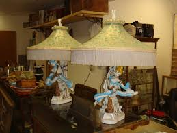 Ebay Antique Table Lamps by 293 Best 1950 U0027s Chalkware Majestic U0026 Atomic Lamps Images On