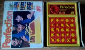 Vintage Retro 1970s Action Gt Perfection Shape Matching Family Board Game Pwo