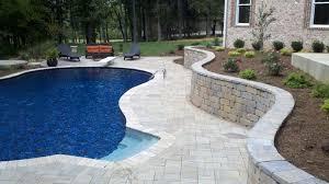 swimming pool with paver patio lebanon tn gardens on