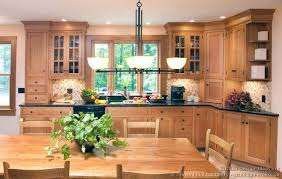 traditional light wood kitchen cabinets 128 crown point