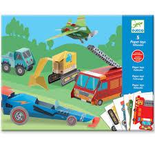 99 Trucks Paper Toys