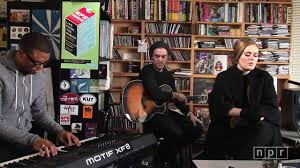 Adele NPR Music Tiny Desk Concert Video Dailymotion
