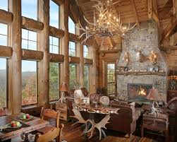 Wild Turkey Lodge Traditional Living Room