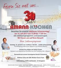 jubiläum küchenstudio amann gmbh in altenstadt wn