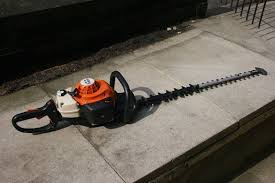 petrol hedge trimmer stihl hs81t hs81r in bradford west