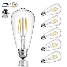 cmyk vintage edison led bulb dimmable 4w st64 antique led bulb