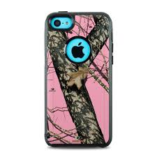 OtterBox muter iPhone 5c Case Skin Break Up Pink by Mossy Oak