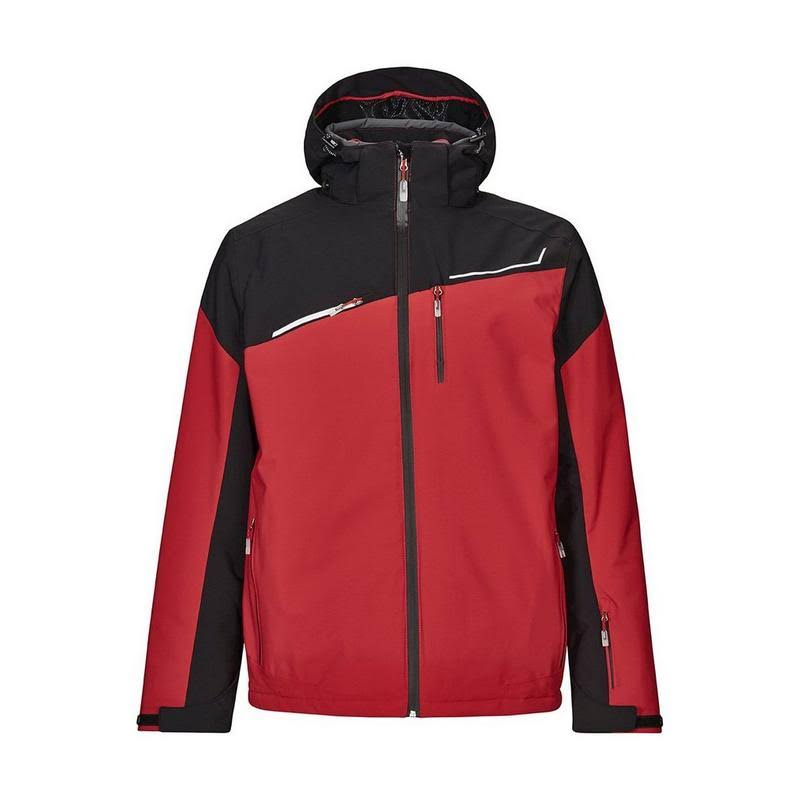 Killtec Den Hooded Jacket Mens Red