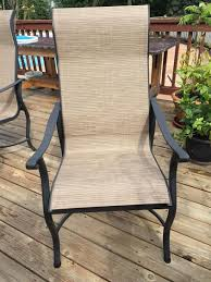 Replacement Slings For Patio Chairs Canada by Grandle Patio Chair Sling Replacements In Michigan