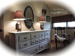 Americana Decor Chalky Finish Paint Tutorial by Painting Thyme Needfuls Thyme To Show You A Bureau And Mirror