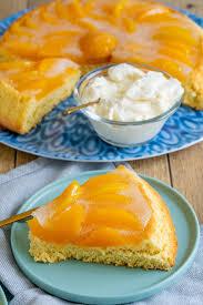 schneller pfirsich biskuit auch für den thermomix