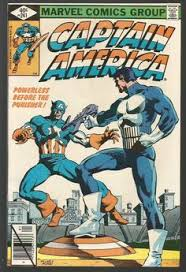 Captain America 241 PUNISHER Fine To VF Marvel Comics 1st Print 1979