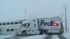 100 Where Is The Fedex Truck Caught On Video UTA FrontRunner Train Crashes Into FedEx Truck