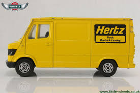 Mercedes-Benz Van 207D - Yellow - Herz Truck Rental & Leasing 7790