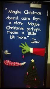Christmas Office Decorating Ideas For The Door by Grinch Door Decorating Crafts Pinterest Door Decorating