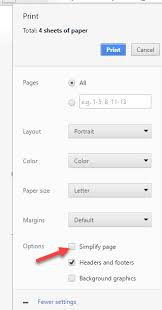 Image Credit From This Article Techdows 2016 09 Chrome 53 Simplify Page Printing Option Removed