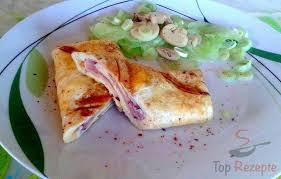 gefülltes ei omelett aus dem sandwichmaker
