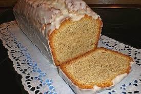 haselnuss mandel kuchen mit rum zuckerguss