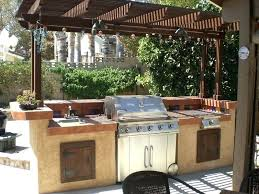 Outdoor Kitchen Ideas Functional And Practical Design With Green Egg