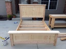 Ana White Headboard Diy by Best 25 Farmhouse Bed Ideas On Pinterest Woodworking Plan