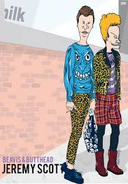 Beavis And Butthead Halloween by Cartoon Characters Dressed In High Fashion For Fashion Week