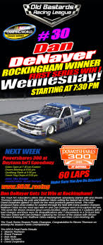 100 Nascar Truck Race Results Dan DeNayer Gets 1st Camping World Win At Rockingham