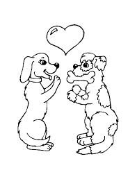 Coloring Pages Page Dog Street