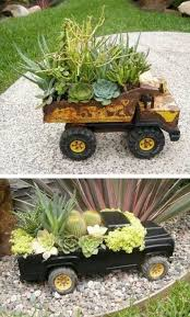 24 Creative Garden Container Ideas With Pictures Tonka TrucksDump